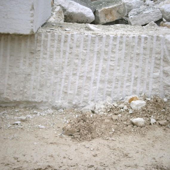 Blocco in Bianco Asiago corso da cm 100 (taglio a fioretto)