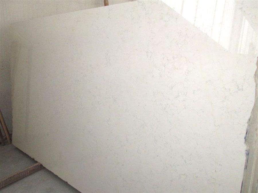 Lastra in Bianco Asiago segata al verso