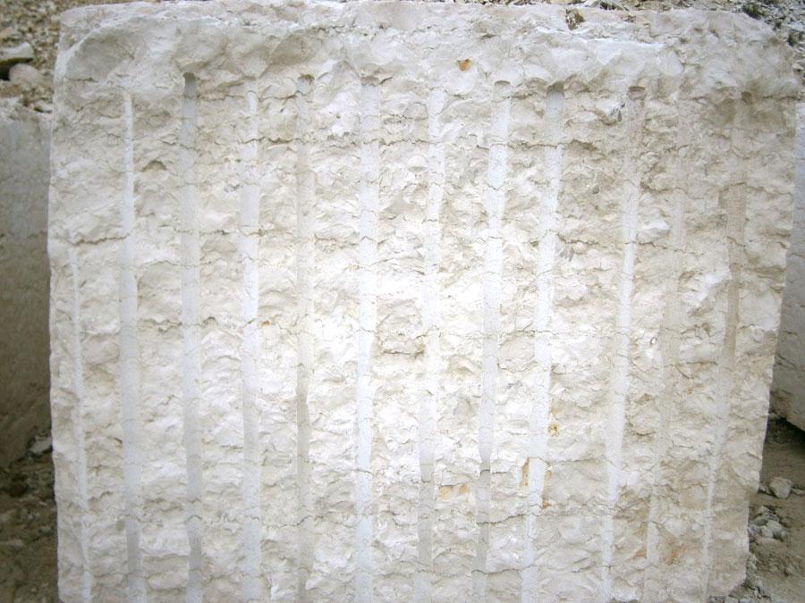 Blocco in Bianco Asiago di seconda scelta da cm 100